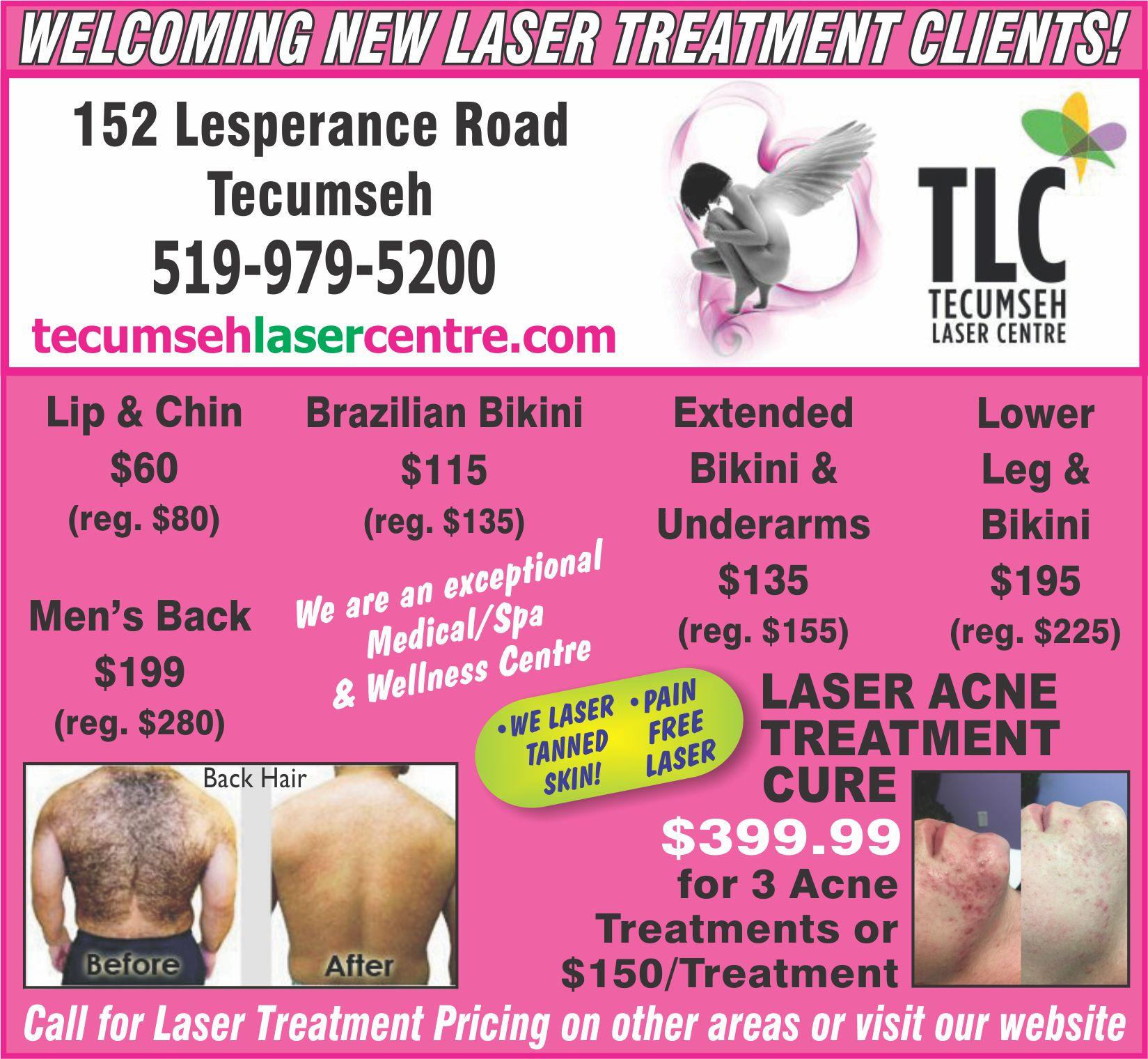 Tecumseh Laser Centre - Laser Ad (1)